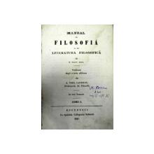 MANUAL DE FILOSOFIE SI DE LITERATURA FILOSOFICA  W. TRAUG. KRUG.