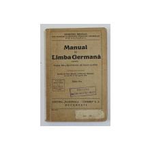 MANUAL DE LIMBA GERMANA PENTRU CLASA VIII A SECUNDARA DE BAIETI SI FETE de DEMETRU MICHAIL , 1939