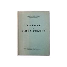 MANUAL DE LIMBA POLONA de STEFAN GLIXELLI , 1938 , DEDICATIE*