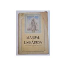MANUAL DE LIMBA RUSA PENTRU CURSURILE POPULARE DE LA ORASE , CICLUL I , 1953