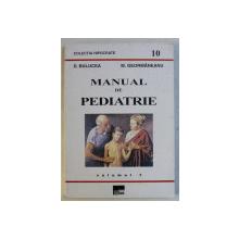 MANUAL DE PEDIATRIE de D.BULUCEA si M . GEORMANEANU , VOLUMUL I , 1997