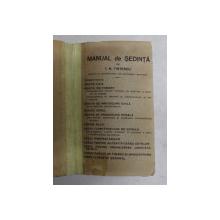MANUAL DE SEDINTA de I.N. FINTESCU, EDITIE DE ANII '30
