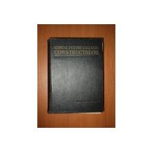 MANUAL PENTRU CALCULUL CONSTRUCTIILOR de ANDREI D. CARACOSTEA  1959