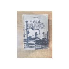 MANUAL PENTRU INTRETINEREA INSTALATIILOR DE APA ALE CAILOR FERATE PENTRU MAISTRII SI LUCRATORII INSTALATORI  , 1949