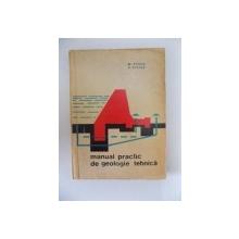 MANUAL PRACTIC DE GEOLOGIE TEHNICA de M. PASCU , V. STELEA , 1963