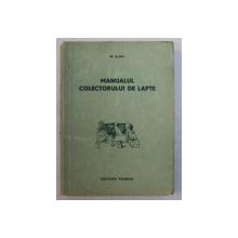 MANUALUL COLECTORULUI DE LAPTE de M . ALBU , 1955