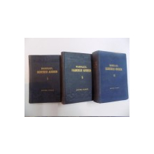MANUALUL INGINERULUI AGRONOM , VOL. 1-2-3 , 1952