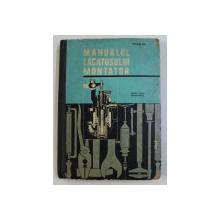 MANUALUL LACATUSLUI MONTATOR - PENTRU SCOLI PROFESIONALE  de TANASE GH . , 1967