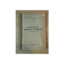 MANUALUL SERGENTULUI TANCHIST , CARTEA A 3-A , 1956