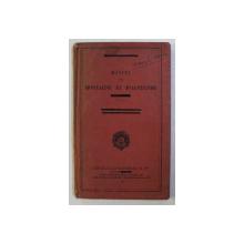 MANUEL DE MONTAGNE ET D' ALPINISME MILITAIRE . ANNEXE A L' INSTRUCTION PROVISOIRE SUR LES OPERATIONS EN MONTAGNE , 1931