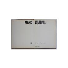 MARC CHAGALL di MARIO BUCCI , 1970