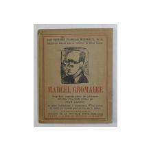 MARCEL GROMAIRE par JEAN CASSOU , 1925
