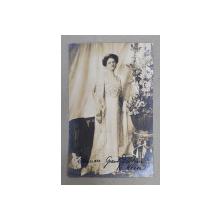 MAREA DUCESA ELEONORE VON HESSE , CARTE POSTALA ILUSTRATA , MONOCROMA, CIRCULATA , DATATA 1912