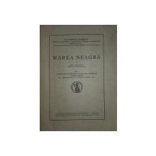 MAREA NEAGRĂ de GRIGORE ANTIPA . VOL. I OCEANOGRAFIA, BIONOMIA ȘI BIOLOGIA GENERALĂ A MĂRII NEGRE (1941)