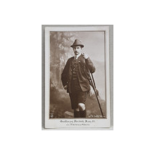 MARELE DUCE FRIEDRICH FRANZ IV von MECKLENBURG -  SCHWERIN , - CARTE POSTALA ILUSTRATA , MONOCROMA, NECIRCULATA , PERIOADA INTERBELICA