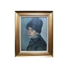 MARIA MANEA AULEB , PORTET DE TIGAN , TINERIMEA ARTISTICA 1934