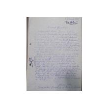 MARIN SORESCU, NOTA  ADRESATA UNIUNII SCRIITORILOR, 1979