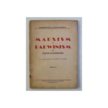MARXISM SI DARWINISM de ANTON PANNEKOEK , 1943