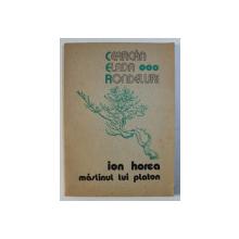 MASLINUL LUI PLATON - versuri de ION HOREA , 1976