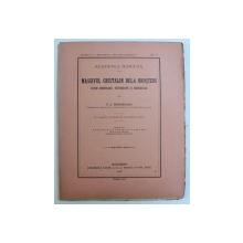 MASSIVUL CRISTALIN DELA BROSTENI -- STUDIU MORFOLOGIC , PETROGRAFIC SI MINERALOGIC de V . C. BUTUREANU , CU 1 HARTA , 2 STAMPE SI 41 FIGURI IN TEXT , 1916