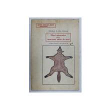 MASURI PREZERVATIVE PENTRU CONSERVAREA PIEILOR DE VANAT - COLECTIUNEA DE TROFEE VANATORESTI , 1936