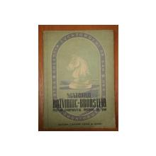 MATCHUL BOTVINNIC-BRONSTEIN PENTRU CAMPIONATUL MONDIAL DE SAH  1953
