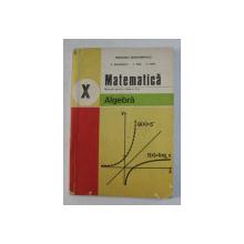 MATEMATICA - ALGEBRA , MANUAL PENTRU CLASA A X-A de C. NASTASESCU ...S. POPA , 1993