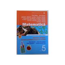 MATEMATICA CLASA A V-a - BREVIAR TEORETIC - EXERCITII SI PROBLEME PROPUSE SI REZOLVATE, 2013