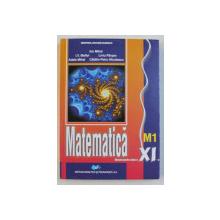 MATEMATICA  - M1 , MANUAL PENTRU CLASA A XI  - a de ION MIHAI ...CATALIN PETRU  - NICOLESCU , 2019