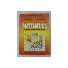 MATEMATICA , MANUAL PENTRU CLASA A VI-A de TATIANA UDREA si DANIELA NITESCU , 1998