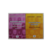 MATEMATICI APLICATE IN ECONOMIE  -CULEGERE DE PROBLEME , VOLUMELE   I - II de FLORENTIN SERBAN si SILVIA DEDU , 2004