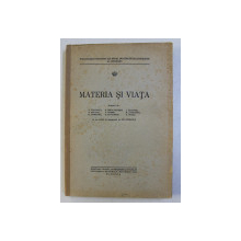 MATERIA SI VIATA  , 1944