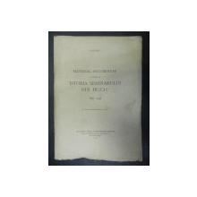 MATERIAL DOCUMENTAR PRIVITOR LA ISTORIA SEMINARULUI DIN BUZAU 1836- 1936 -  BUC. 1937