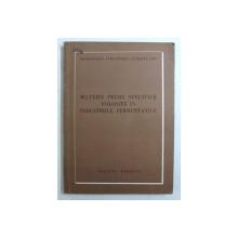 MATERII PRIME SPECIFICE FOLOSITE IN INDUSTRIILE FERMENTATIVE , 1951