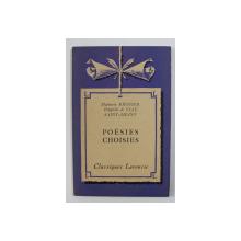 MATHURIN REGNIER - THEOPHILE DE VLAU , SAINT - AMANT - POESIES CHOISIES , 1935