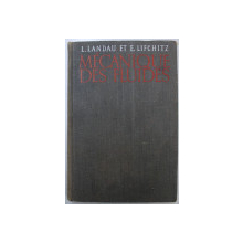 MECANIQUE DES FLUIDES VOL. VI par L. LANDAU et E. LIFCHITZZ , Moscow 1971