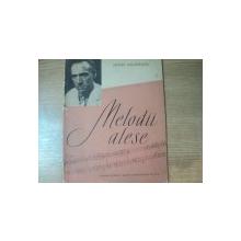 MELODII ALESE de HENRI MALINESCU , 1963