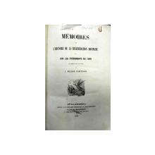 MEMOIRES  SUR L' HISTOIRE  DE LA GENERATION  ROUMAINE OU SUR LES EVENEMENTS  DE 1848   J.H. RADULESCO