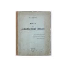 MEMORIU ASUPRA ASEZAMANTULUI BISERICII KRETZULESCU de EM . E . KRETZULESCU , 1906 , DEDICATIE*