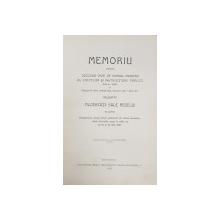 Memoriu asupra deciziei date de domnul ministru al cultelor si instructiunii publice ... - Bucuresti, 1907