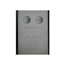 Meniu Pranzul de la 14 Mai 1906, Ministerul de Finante