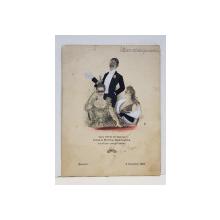 MENIUL CINEI OFERITE IN ONOAREA ACTRITELOR IRMA SI EMMA GRAMATICA SI A COLEGILOR LOR ITALIENI , SEMNAT PE VERSO DE PARTICPANTI , PRINTRE CARE ACTRITA MARIOARA VOICULESCU , DATAT 9 NOIEMBRIE 1927