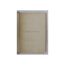 MENUETUL - roman de G.M. VLADESCU , EDITIE INTERBELICA