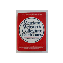MERRIAM WEBSTER 'S COLLEGIATE DICTIONARY , TENTH EDITION , 1997