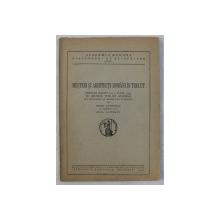 MESTERI SI ARHITECTI ROMANI IN TRECUT , DISCURS ROSTIT LA 5 IUNIE 1947 IN SEDINTA PUBLICA SOLEMNA DE ONOARE A M. S. REGELUI de PETRE ANTONESCU CU RASPUNSUL D-LUI ALEX LAPEDATU , 1947