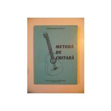 METODA DE CHITARA de FERDINANDO CARULLI , BUCURESTI 1996