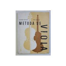 METODA DE VIOLA , VOL. I de ALEXANDRU RADULESCU , MIHAIL NICULESCU , 1986