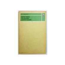 METODE NUMERICE IN REZOLVAREA ECUATIILOR NELINIARE de ST. MARUSTER , 1981
