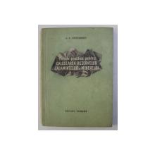 METODE PRACTICE PENTRU CALCULAREA REZERVELOR ZACAMINTELOR DE MINEREURI de A. P. PROKOFIEV , 1955