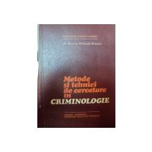 METODE SI TEHNICI DE CERCETARE IN CRIMINOLOGIE-RODICA MIHAELA STANOIU